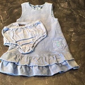 The Children's Place Lined Corduroy Dress Set